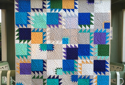 Delta Breeze Quilt Tutorial for Limited Edition Soho Solids