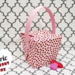 Make a Fabric Takeout Box for V-Day Goodies!