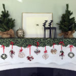 Team Timeless // Mantel Scarf for the Holidays