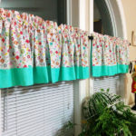 How to Make Reversible Curtains for your Sewing Room!