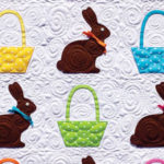 Chocolate Bunnies Easter Quilt + Giveaway!