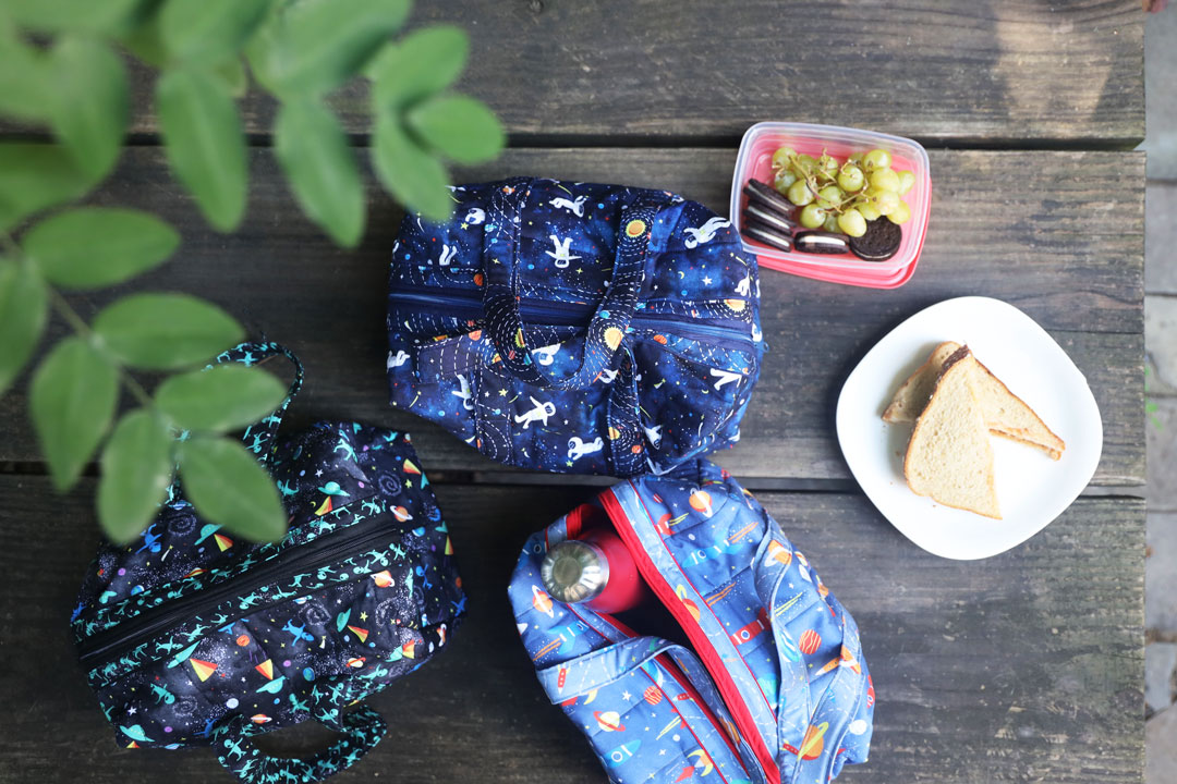 Blast Off! // Lunch Boxes by June Tailor